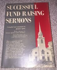 Successful Fund Raising Sermons selected by Julius King 1953 STEWARDSHIP classic