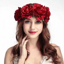 Femmes Couronne Coiffure Bijoux Bandeau Accessoire Serre-Tête Fleur Mariée NF