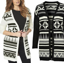 Aztec Plus Size Long Jumpers & Cardigans for Women