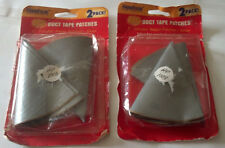 """2 Packages Duct Tape 8"""" Circular Patch """"Nashua Tape Products"""" Hf1003"""