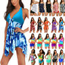 Womens Tankini Swimdress Swimsuit Beach Wear Swimwear Bathing Bikini Plus Size