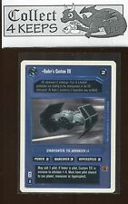 Star Wars CCG Premiere Unlimited WB: Vader's Custom TIE (SWCCG) Played *A*