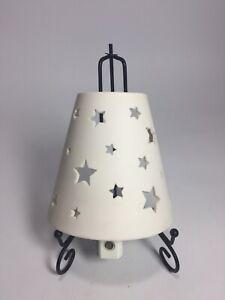 Pottery Barn Kids Nightlight Ceramic Stars Plug-in Night Sky