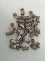 """Copper 45 degree Elbow 3/8"""" New Old Stock Lot Of 32"""