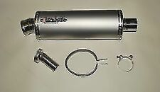 Stainless Road Legal Exhaust Silencer End Can & Link Pipe GSF600 Bandit 95-04