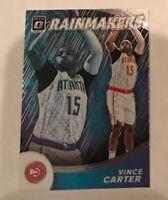 2019-20 Donruss Optic Rainmakers #16 Vince Carter Atlanta Hawks