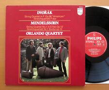 Philips 9500 995 Dvorak Mendelssohn Quartets Orlando Quartet 1981 NM/EX