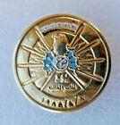 Iraq Saddam Hussein Desert Storm Gulf War Persia victory memory pin badge vintag
