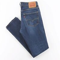 LEVI'S 511 Blue Denim Slim Straight Jeans Mens W31 L32