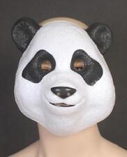PANDA MASK - Child or Adult plastic animal mask