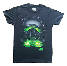 Star Wars (Official) Men's Rogue One Death Troopers Graphic T-Shirt S
