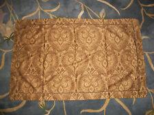 Restoration Hardware Italian Cypress Paisley King Pillow Sham Brown Tan