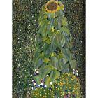 Gustav Klimt The Sunflower 1907 Old Master Painting 12X16 Inch Framed Art Print