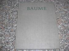 ALBERT RENGER PATZSCH ERNST JUNGER BAUME PHOTOBOOK 1962