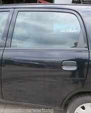 Suzuki Alto 4 IV (FF) HA24 Tür hinten links 5türig  Schwarz  53.656Km