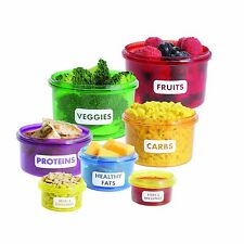 BPA-Free Portion-Control Container Set (14-Piece)