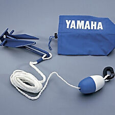 Yamaha Watercraft/Sport Boat/Pwc Compact Stowable Anchor,Rope,Float Kit Danforth
