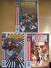 """WOLVERINE #s 33,34,35 : """"CHASING GHOSTS"""" COMPLETE 3 ISSUE HOUSE of M STORY.2005"""