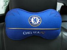 Chelsea Football Club Car Accessory : 1 piece Neck Rest Cushion Head Pillow