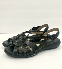 Naturalizer Convey Black Womens Sandals US 8 Wide