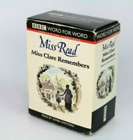 BBC Word for word Miss Read Miss Clare Remembers Read By Gwen Watford Cassettes