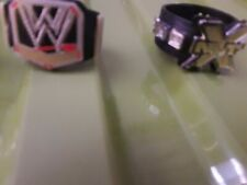 Four Toy Wrestling Belts For Action Figures