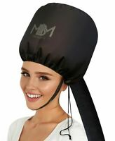 Portable Soft Hair Drying Cap Bonnet Hood Hat Blow Dryer Attachment With Pou