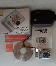 Nikon COOLPIX 7600 7.1MP Digital Camera - Silver