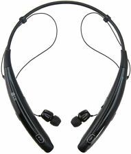 New Lg Tone Pro Hbs-760 Black Wireless Bluetooth Stereo Headset+Free Car Charger
