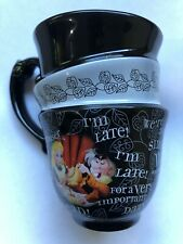 Disney Parks Alice In Wonderland Stacked Mug Tea Cup Authentic Original Thailand