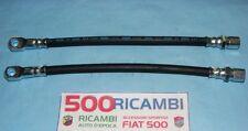 FIAT 500 N/D/F FINO 68 EPOCA COPPIA TUBO FRENI ANTERIORE NUOVO OTTIMA QUALITA'