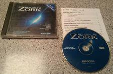 Volver a juego de aventura Zork-PC-INFOCOM