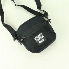 OBEY Conditions Traveler Festival Tote Essentials Side Bag Brand New in Black