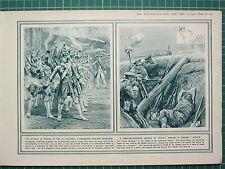 1915 WWI WW1 PRINT ~ GRENADIER COMPANY 18th CENTURY ~ TODAY HURLING JAM-TIN