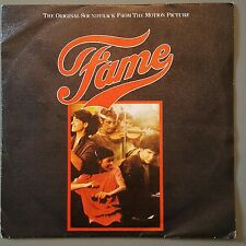 Irene Cara  FAME 1983 Spanish Release Textured Sleeve Ex. Condition FREE POST