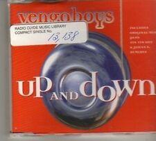 (BN437) Vengaboys, Up And Down - 1998 DJ CD