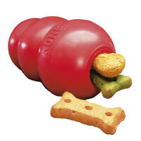 "Dog Toy Kong Classic Red For Dogs Small - ""Worlds Best Dog Chew Toy"""