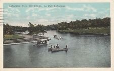 Antique POSTCARD c1923 Lafontaine Park MONTREAL, QUEBEC CANADA