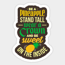 Pineapple Summer Cool Hawaiian Color Vinyl Wall Decal Decor Sticker Fruit Quote