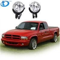 FOG LAMP LIGHT W//BULB SET FOR 1997-2000 Dodge DAKOTA 1998-2000 Dodge DURANGO