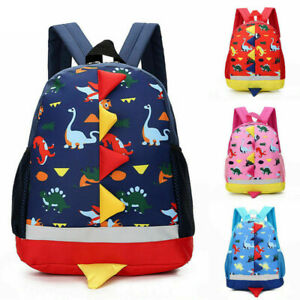 Lovely Toddler Baby Boys Girls Kids Dinosaur Animals Backpack Nursery School Bag