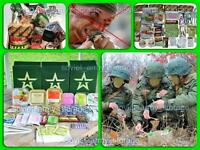 Russian Army MILITARY MRE (DAILY FOOD RATION PACK) Emergency Food Military+Gift