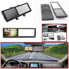 New 5'' 8GB Bluetooth Car GPS Navigation SAT NAV FM Rearview Mirror Touch Screen