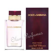 Dolce & Gabbana Pour Femme Eau de Parfum 3.3oz 100ml * New in Box Sealed *