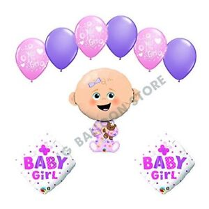 It's a Girl Yes I'm a Girl baby shower supplies decoration balloon kit