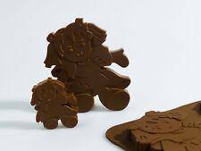 6+1 RagDoll bambola di pezza Ragazze Cioccolato Caramelle Stampo in silicone bakeware Cera Pastelli