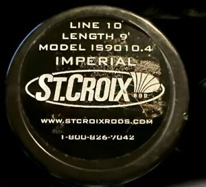 St.Croix Imperial Salt Fly Rod 9' 10wt IS9010.4