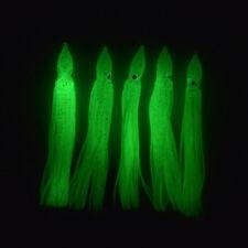 5 Tintenfische 12cm leuchten im Dunkeln Octopus Oktopusse Angeln Angelhotspot X
