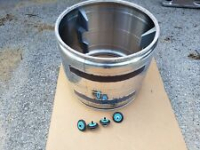 Samsung Dryer Drum with Lifters & Support Rollers DC97-14849A B3A