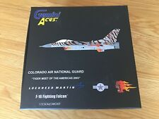 F-16 FIGHTING FALCON USAF Model 1:72 GeminiACES Diecast Colorado GAUSA5005 Tiger
